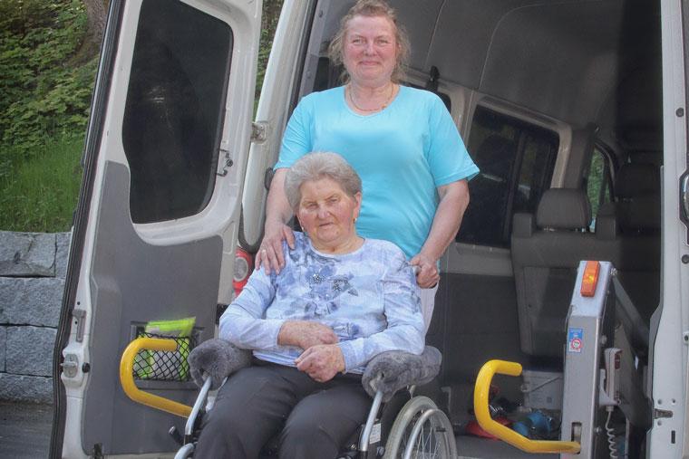 Fahrdienst von Elisabeth's Pflege in Simbach