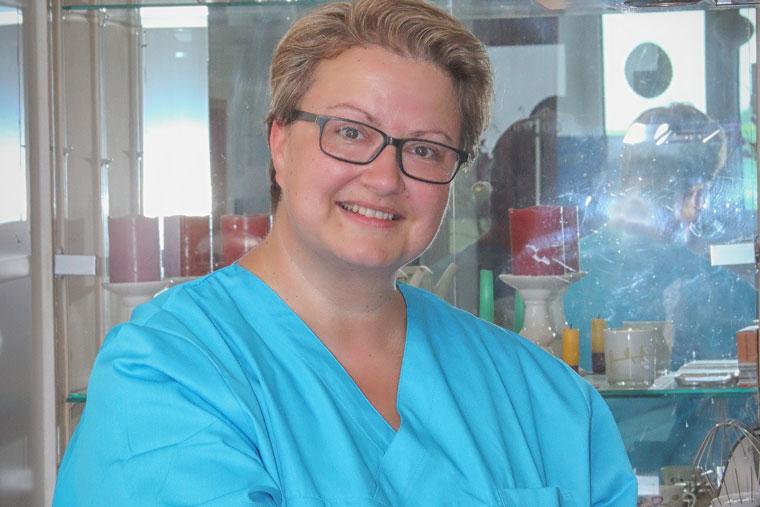 Köchin Monika von Pflegedienst Elisabeth's Pflege